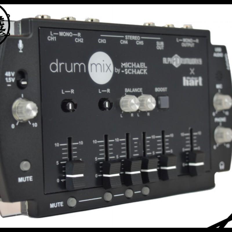 AD DRUMMIX 鼓手設計 5 channel混音器