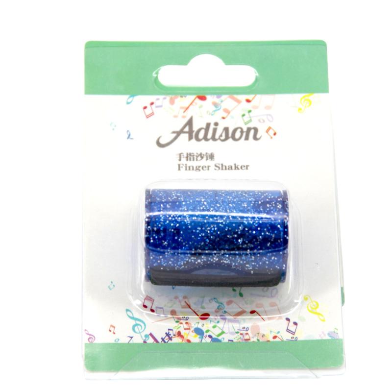 Adison 手指沙鈴-炫耀藍 (FS-B) 【美鼓打擊】