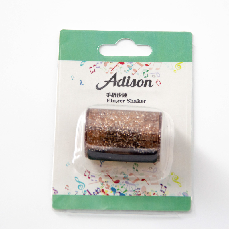 Adison 手指沙鈴-炫耀褐
