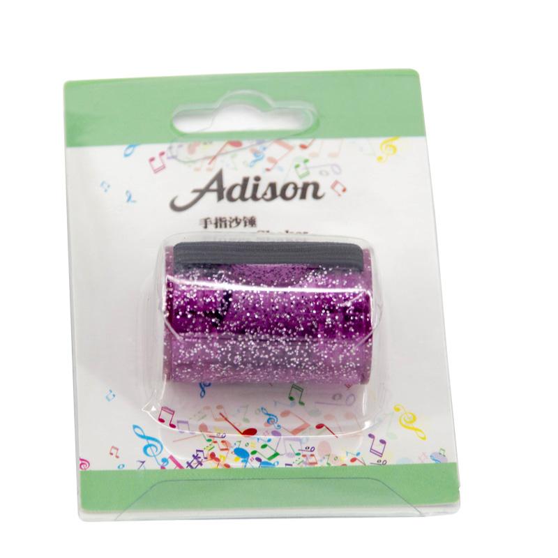 Adison 手指沙鈴-炫耀紫