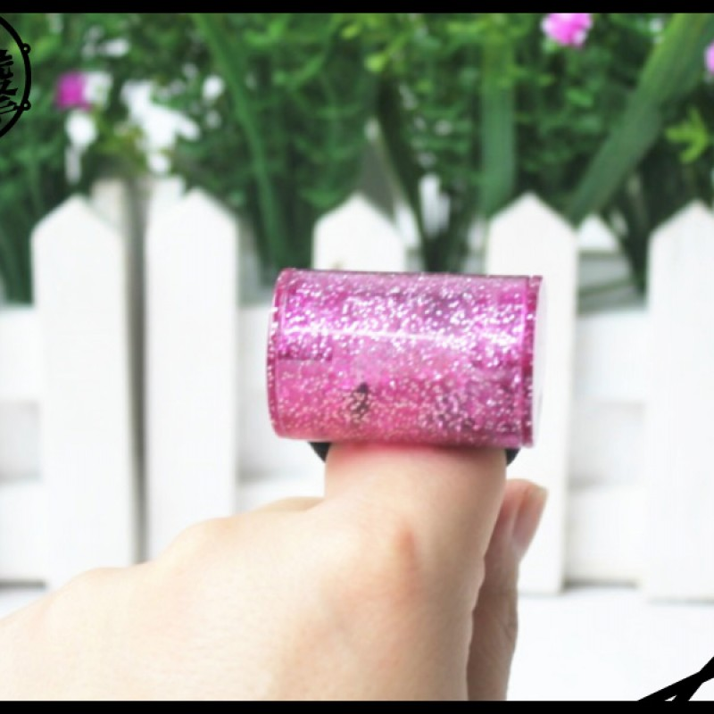 Adison 手指沙鈴-炫耀紫 (FS-P) 【美鼓打擊】