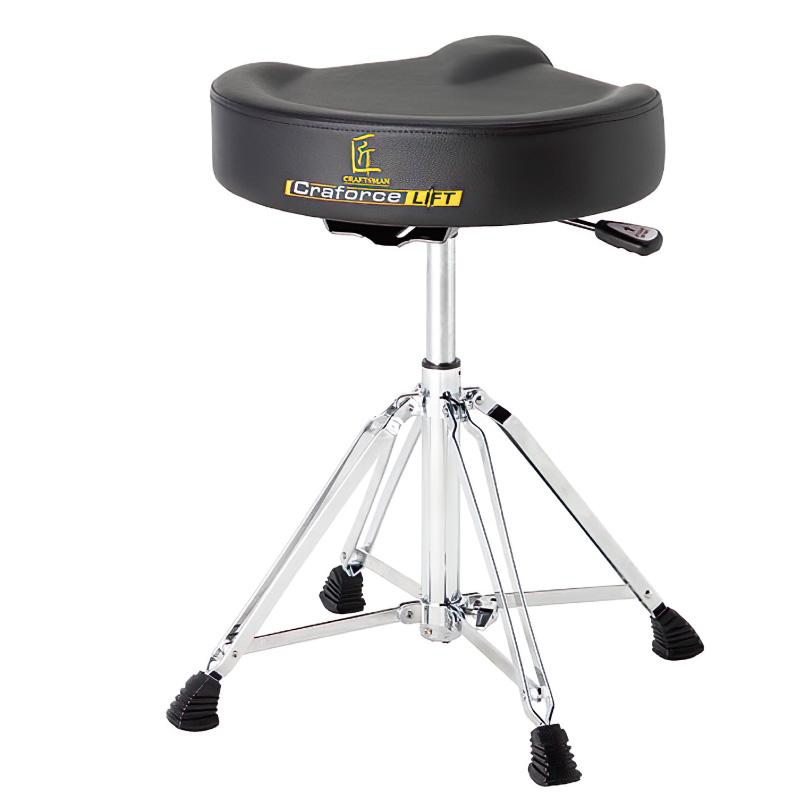 茗匠 氣壓升降馬鞍式鼓椅 (C-DTICL) 【美鼓打擊】