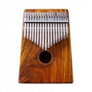 GECKO 17音單板相思木拇指琴 卡林巴琴