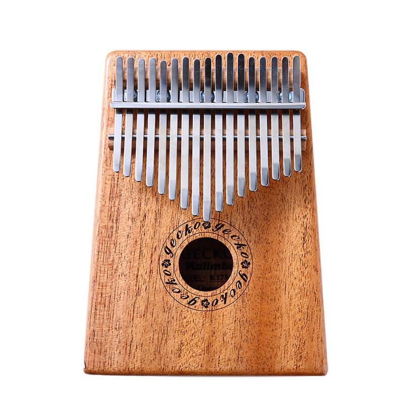 GECKO 17音單板桃花芯木拇指琴 卡林巴琴 (K17M) 【美鼓打擊】