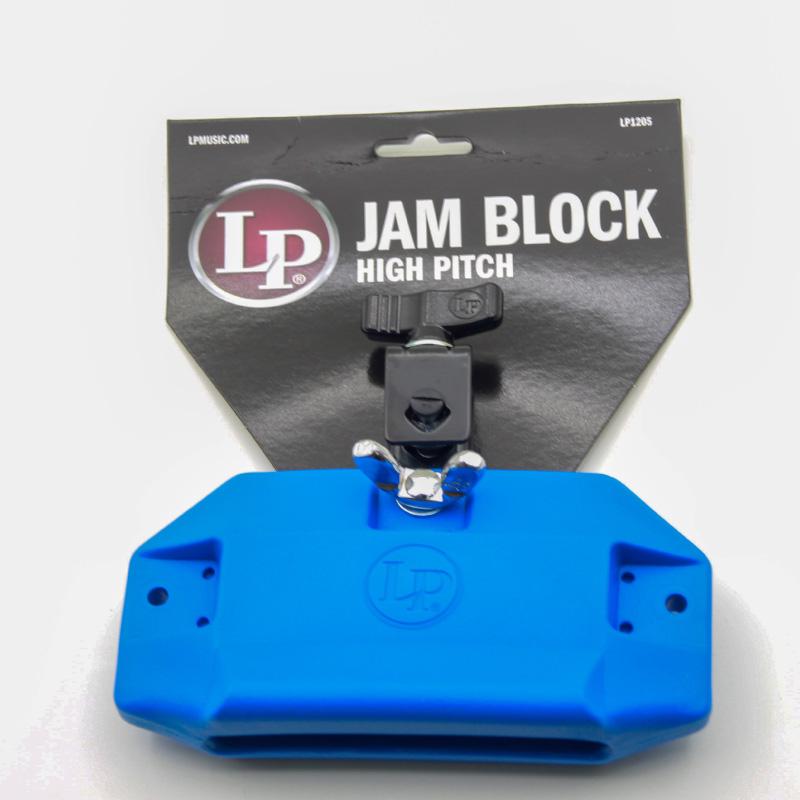 LP-1205 高音high pitch 藍色塑膠木魚 (LP-1205) 【美鼓打擊】