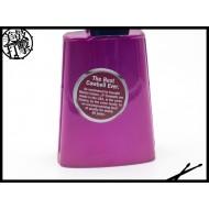 LP-204C-ZP 美製手工彩繪牛鈴-紫色斑馬紋