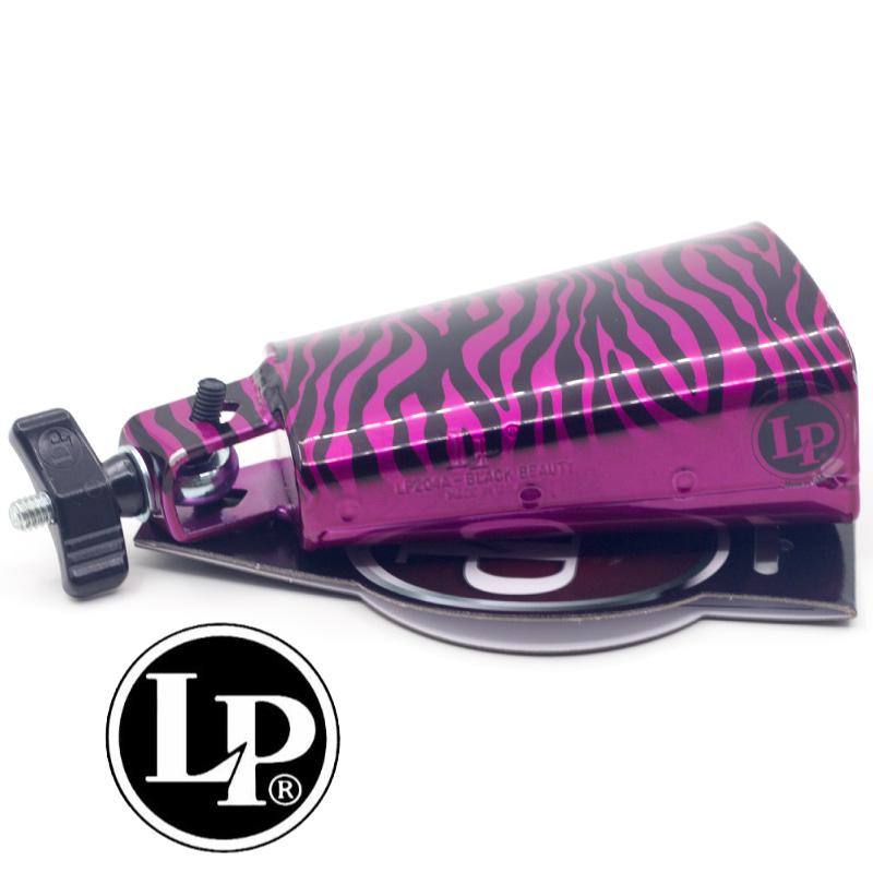 LP-204C-ZP 美製手工彩繪牛鈴-紫色斑馬紋 (LP-204C-ZP) 【美鼓打擊】