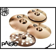 "Paiste ALPHA Swiss Medium Set (14""/16""/20""/18"") 銅鈸套組"