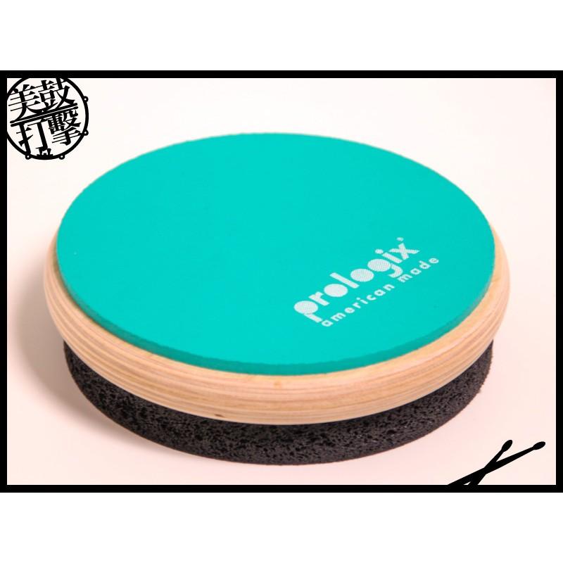 ProLogix 黑+綠 6吋雙面打點板 (LOGIXBLACKOUT6) 【美鼓打擊】