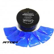 RTOM Moongel Damper Pad  藍色六片裝鼓用吸音貼