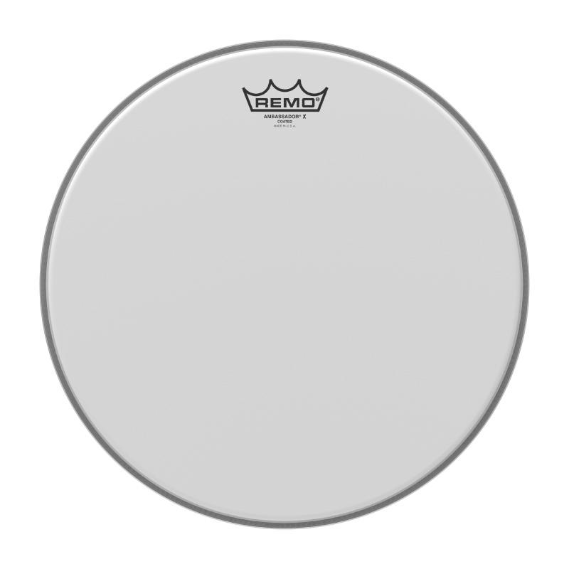 Remo AMBASSADOR®X 14吋單層噴白鼓皮