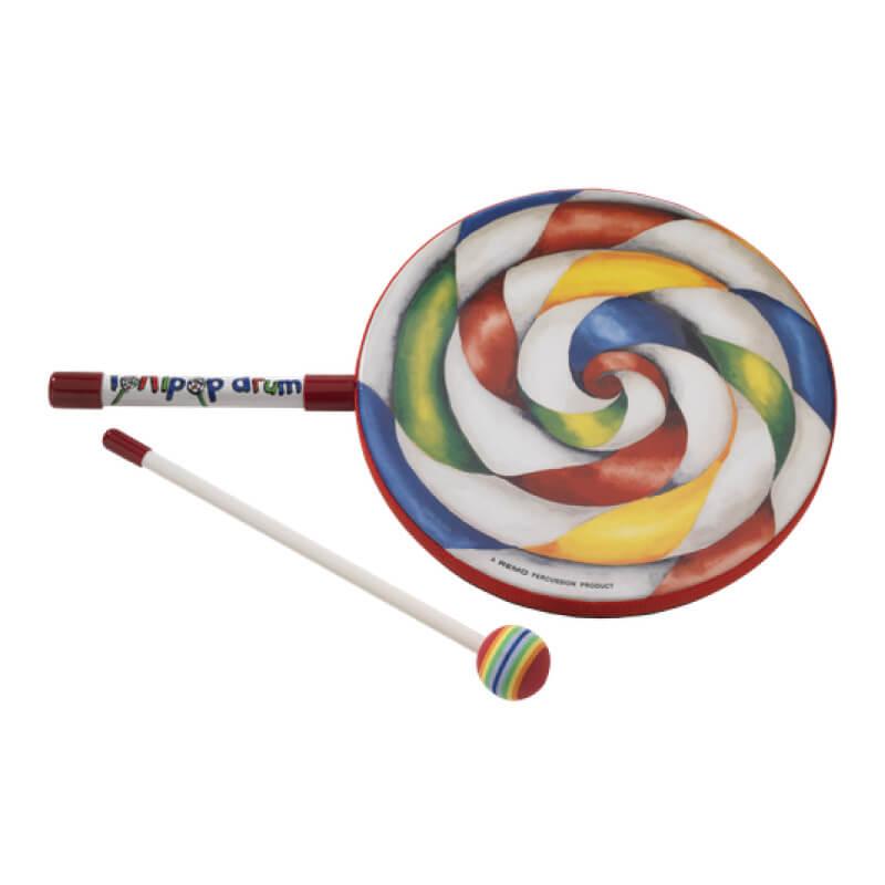 Remo Lollipop Drum 十吋棒棒糖鼓 (ET-7110-00) 【美鼓打擊】