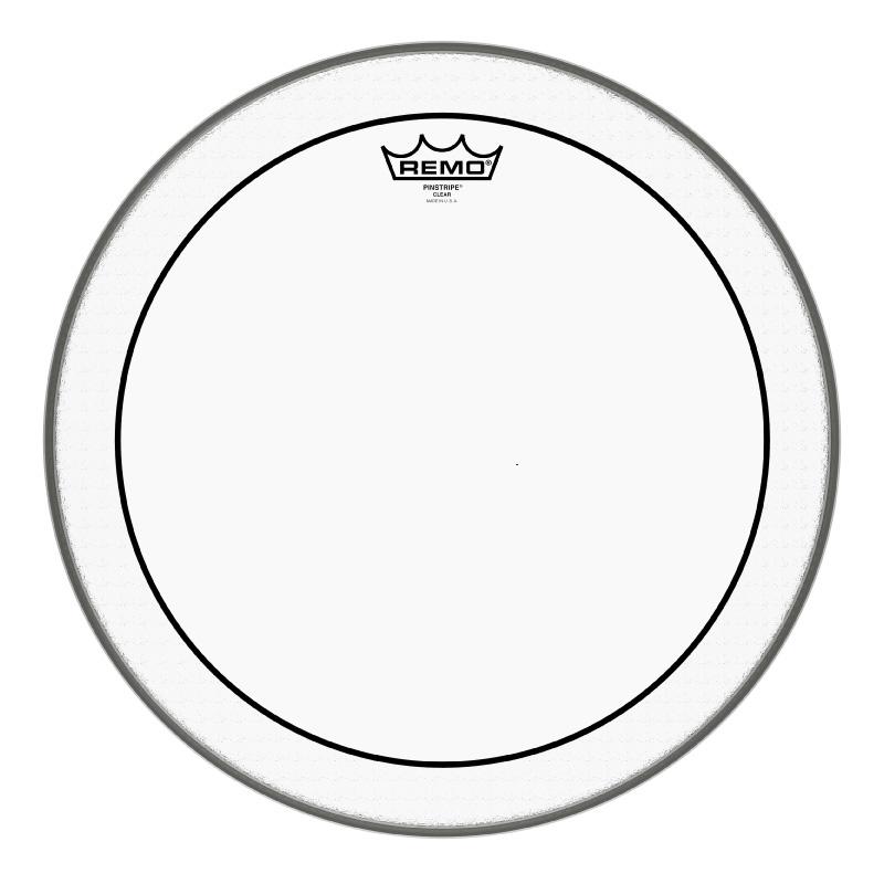 Remo PINSTRIPE® CLEAR 16吋雙層油面鼓皮 (PS-0316-00) 【美鼓打擊】