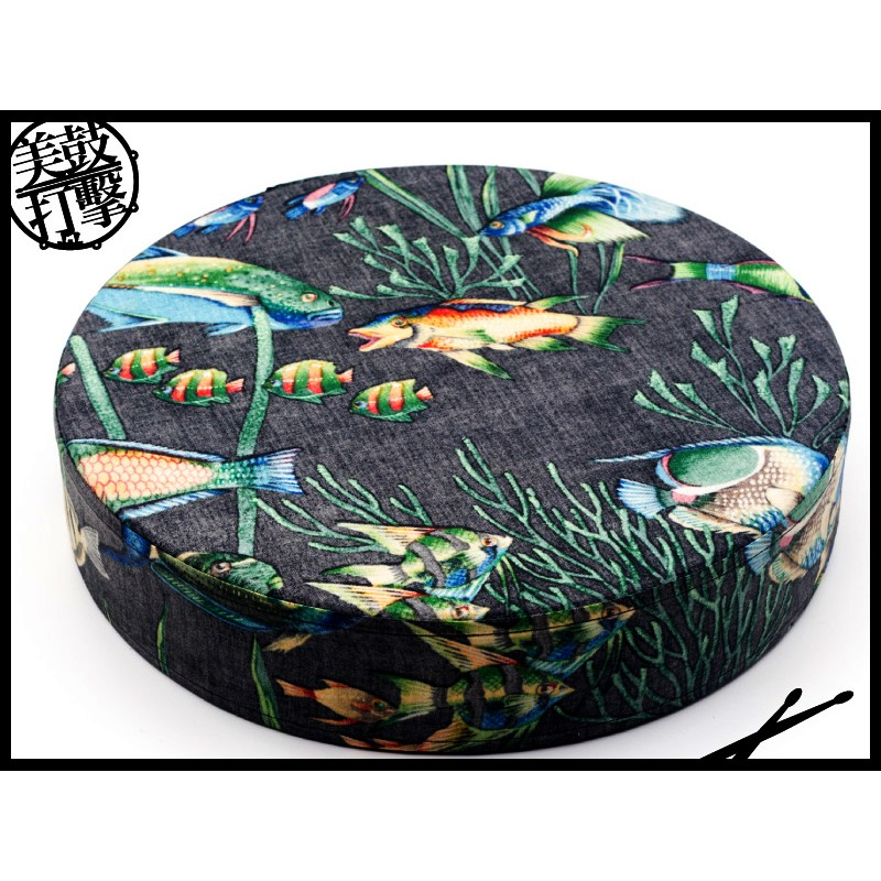 Remo 12吋海洋鼓海浪鼓 ocean drum (ET-0212-10) 【美鼓打擊】