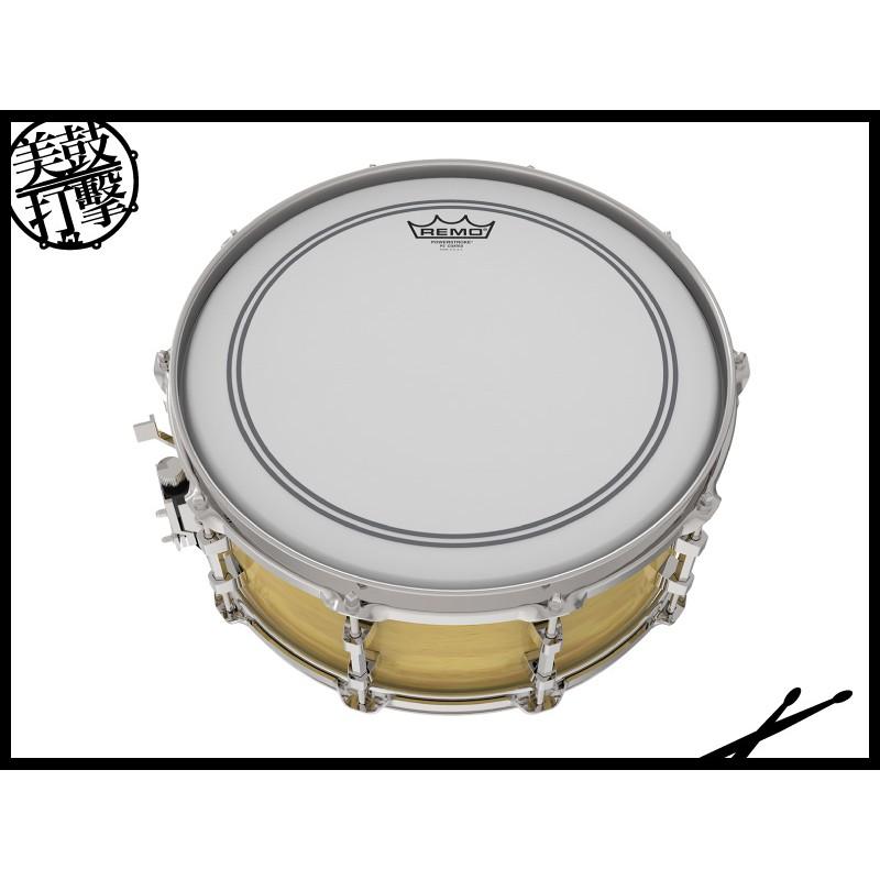 Remo POWERSTROKE®P3 14吋單層噴白鼓皮 (P3-0114-BP) 【美鼓打擊】