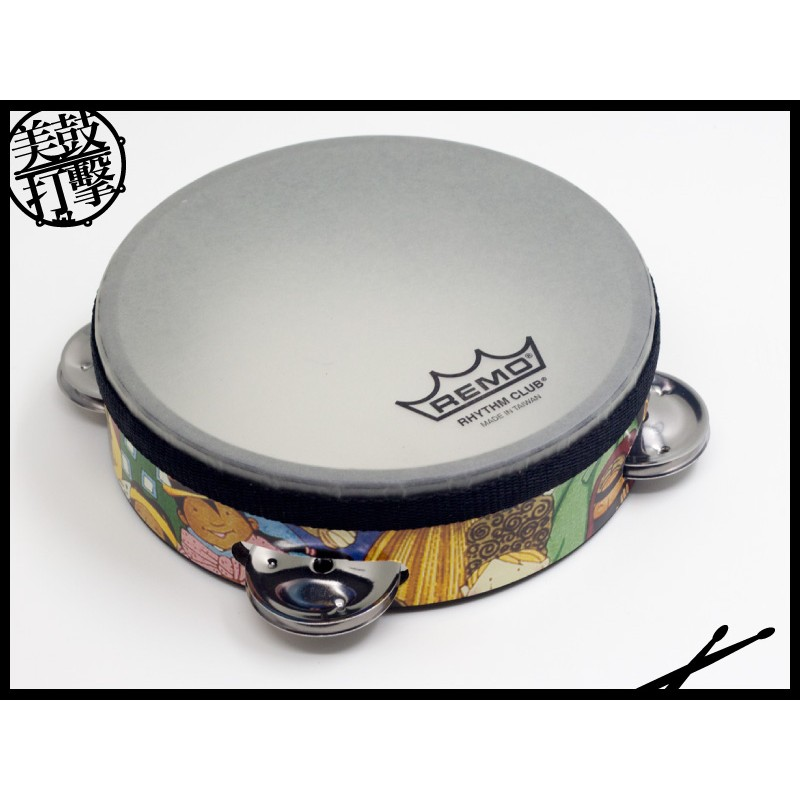 Remo Rhythm Club Tambourine 小孩專用鈴鼓 (RH-2106-00) 【美鼓打擊】