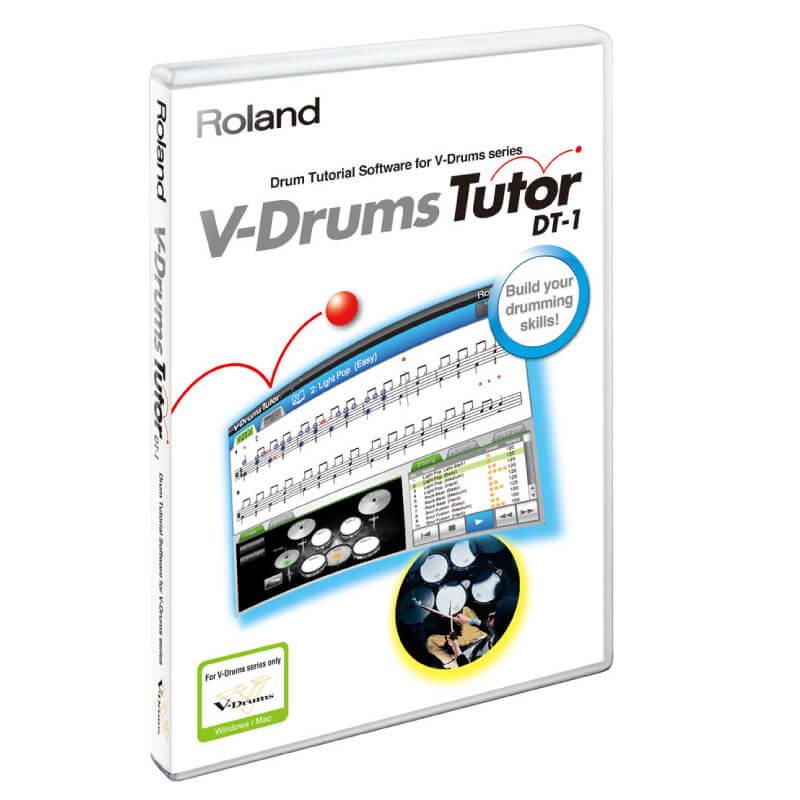 Roland V-Drums Tutor電子鼓教練軟體 (DT-1) 【美鼓打擊】