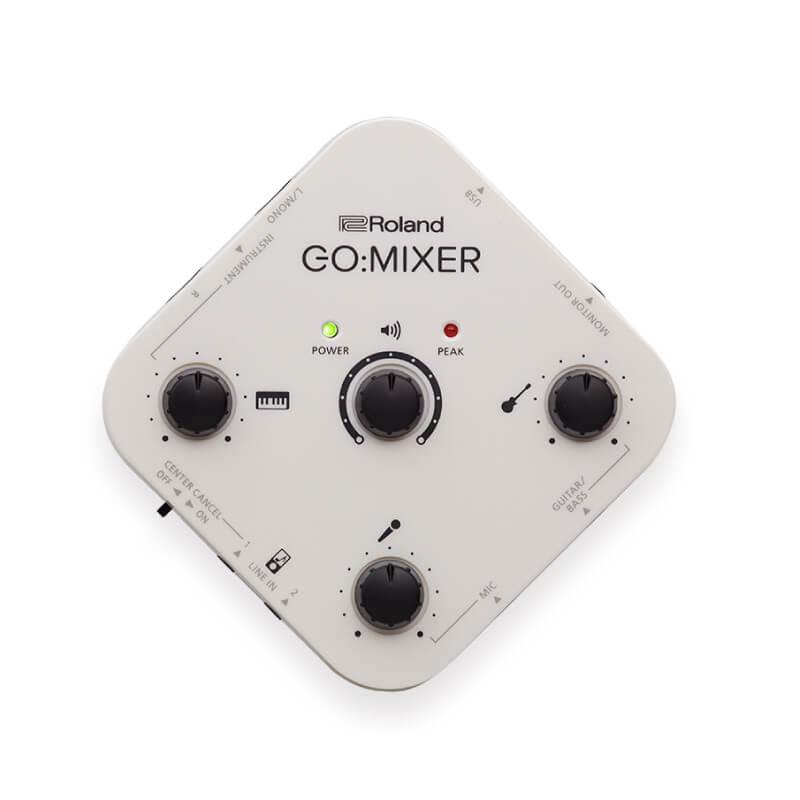 Roland GO:MIXER 直播錄音專用音訊混音器