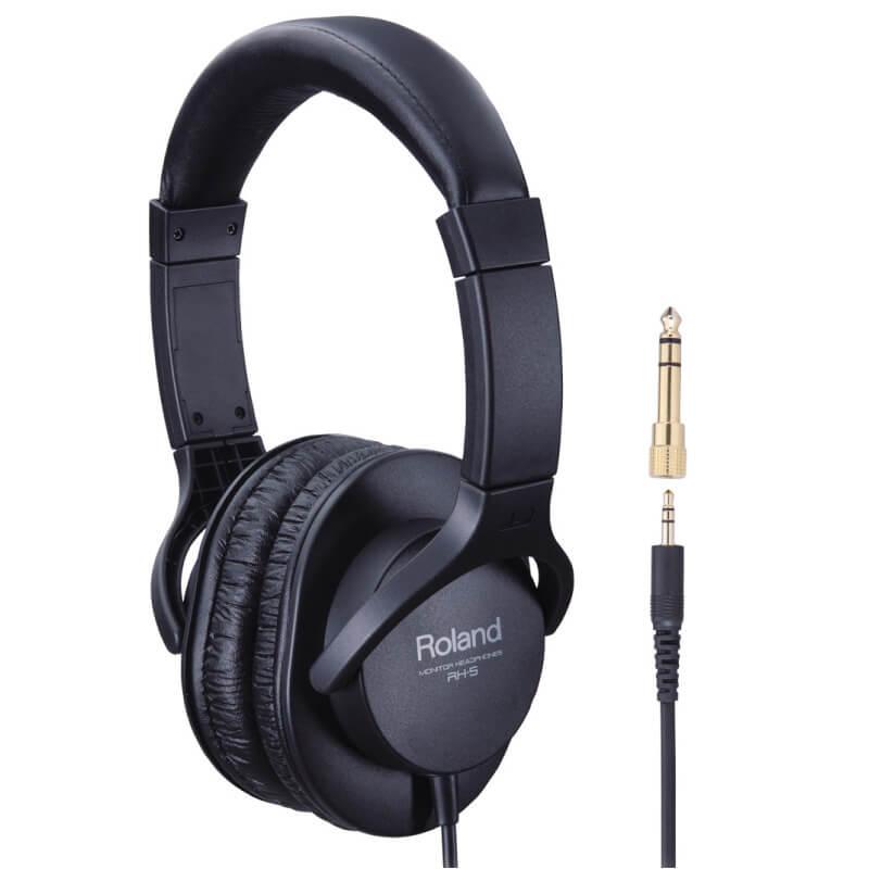 Roland RH-5 電子樂器監聽耳機 (RH-5) 【美鼓打擊】