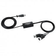 Roland UM-ONE MK2 MIDI USB 連接線