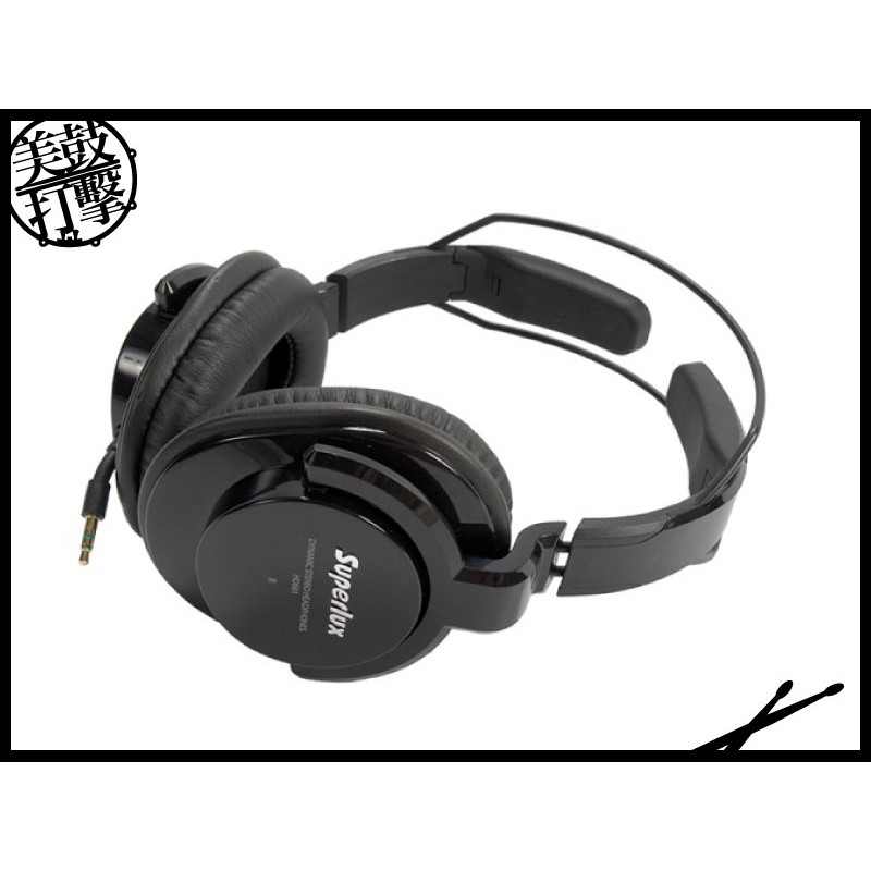 SUPERLUX HD661 專業監聽級耳機-黑