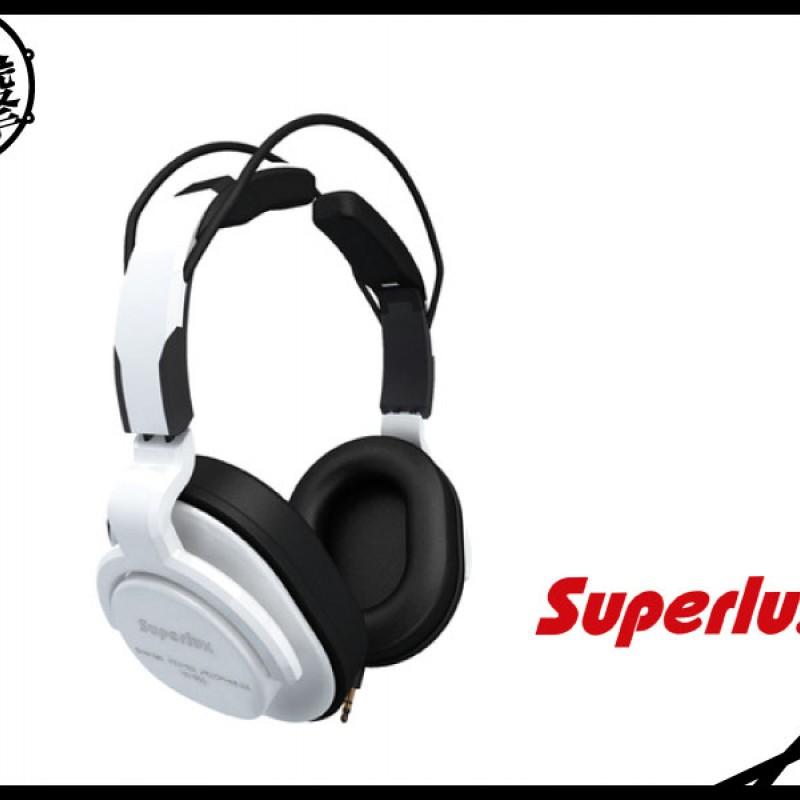 SUPERLUX HD661 專業監聽級耳機-白 (HD661W) 【美鼓打擊】