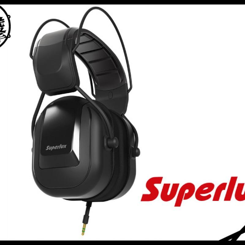 Superlux HD665 黑色鼓手及低音樂器監聽耳機