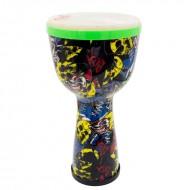 Djembe 極輕量 10吋塗鴉款兒童金杯鼓|非洲鼓