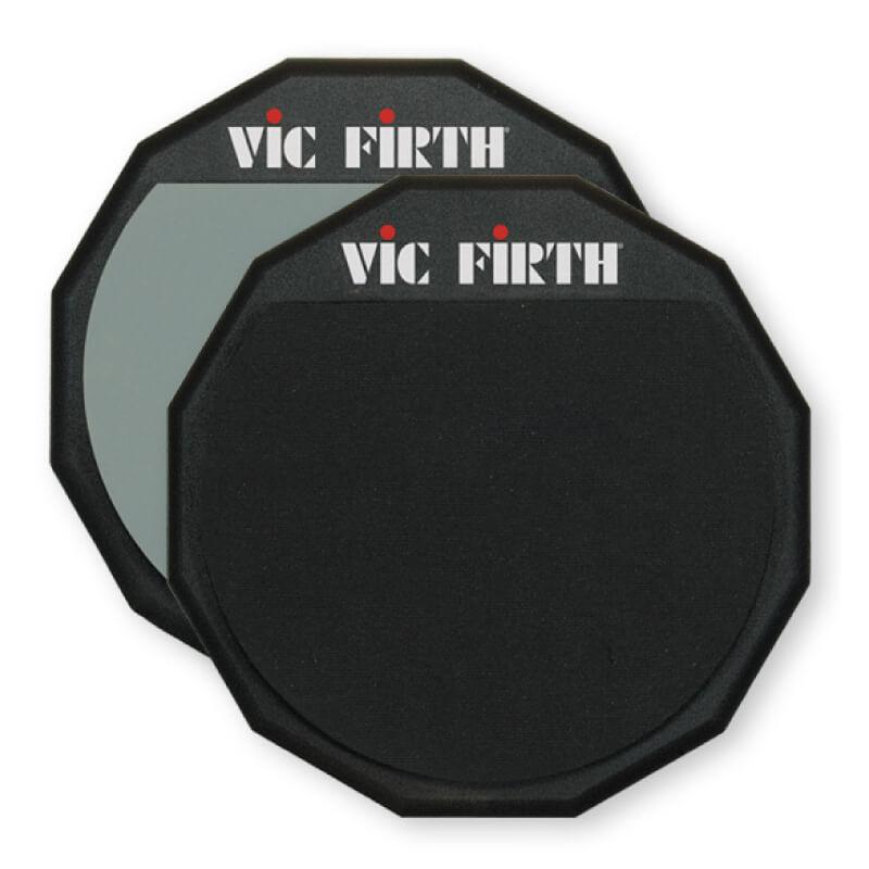 Vic Firth 雙面十二吋雙材質彈性膠面打點板 (VFOP-PAD12D) 【美鼓打擊】