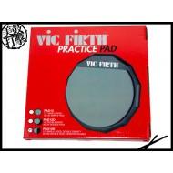 Vic Firth 單面十二吋雙材質彈性膠面打點板