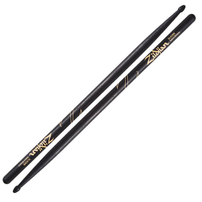 Zildjian 5A Acron 黑色鼓棒 (5ACB) 【美鼓打擊】