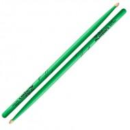 Zildjian 5A Acron 粉綠色霓虹鼓棒