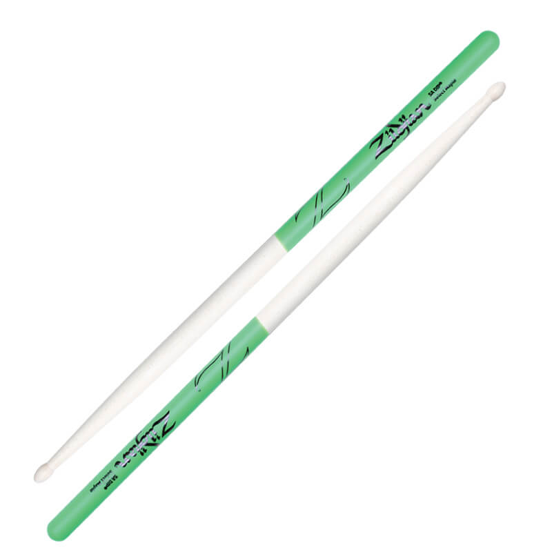 Zildjian 5A MAPLE DIP 綠色防滑楓木鼓棒