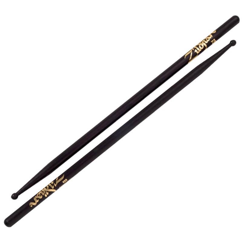 Zildjian 7A 黑色鼓棒 (7AWB) 【美鼓打擊】