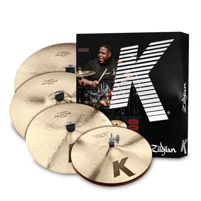 Zildjian K CUSTOM DARK 暖系銅鈸套組 (KCD900) 【美鼓打擊】