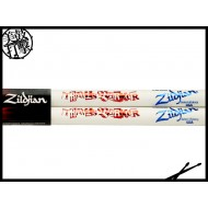 Zildjian ASTB Travis Barker 白色簽名鼓棒