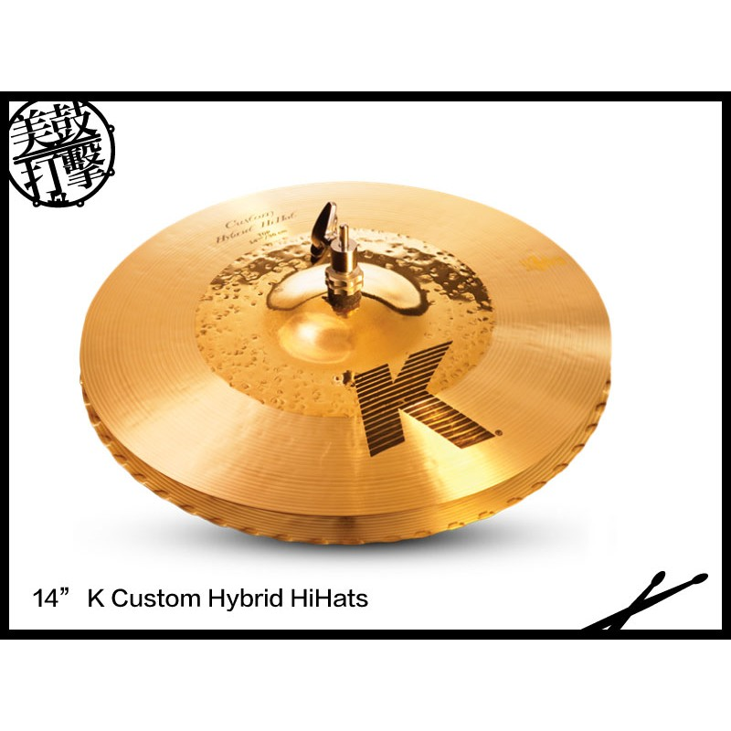 Zildjian 神保彰 K Custom Hybrid Cymbal套裝銅鈸組 (KCH390) 【美鼓打擊】