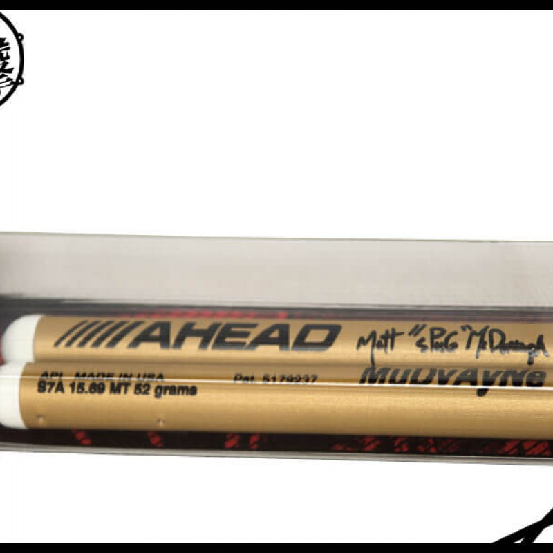 AHEAD MUDVAYNE 的鼓手Matt McDonough 簽名鼓棒 (S7A) 【美鼓打擊】