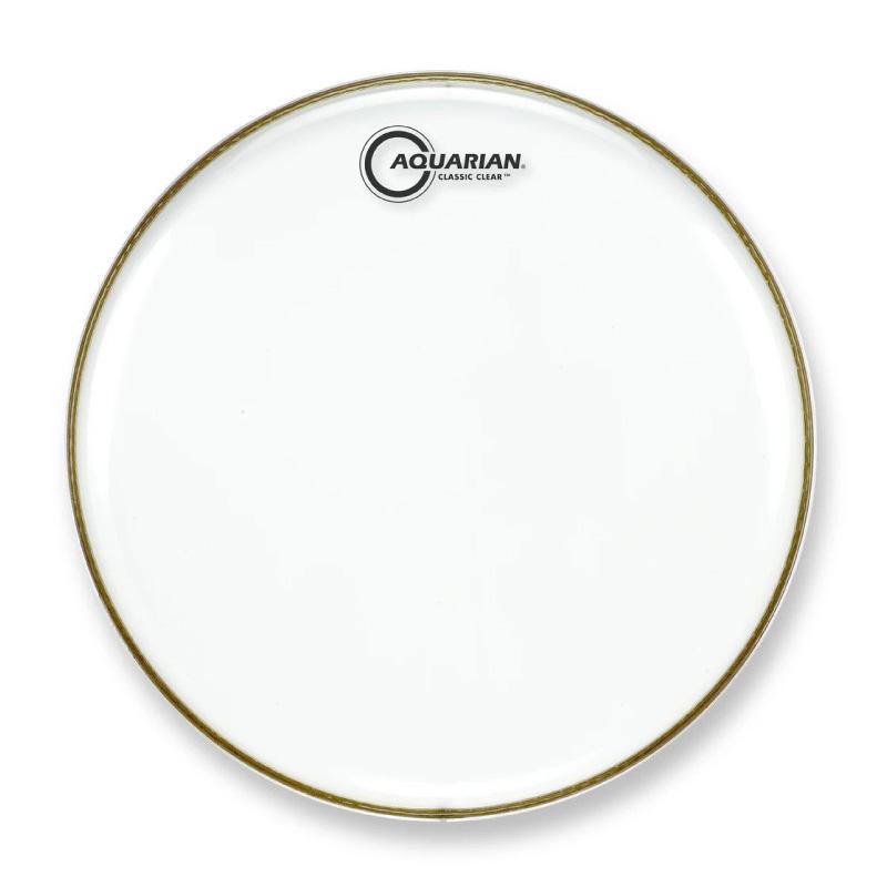 AQUARIAN Classic Clear 10吋透明單層鼓皮