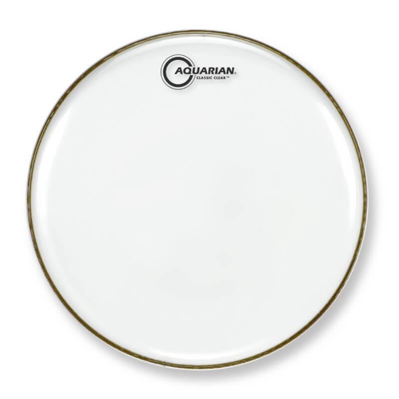 AQUARIAN 14吋經典透明小鼓響應面鼓皮
