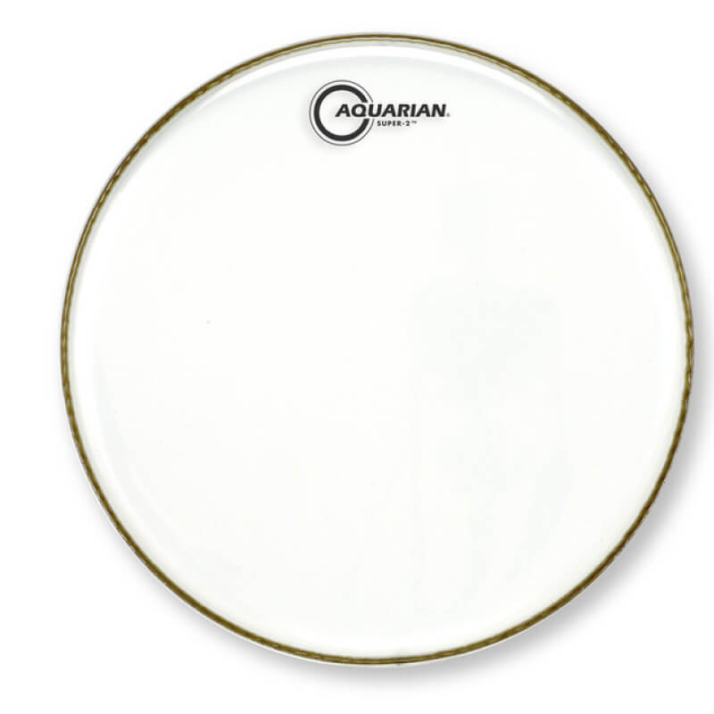 AQUARIAN Super-2 10吋透明雙層鼓皮