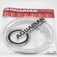 AQUARIAN Super-2 透明系列 套裝鼓皮組