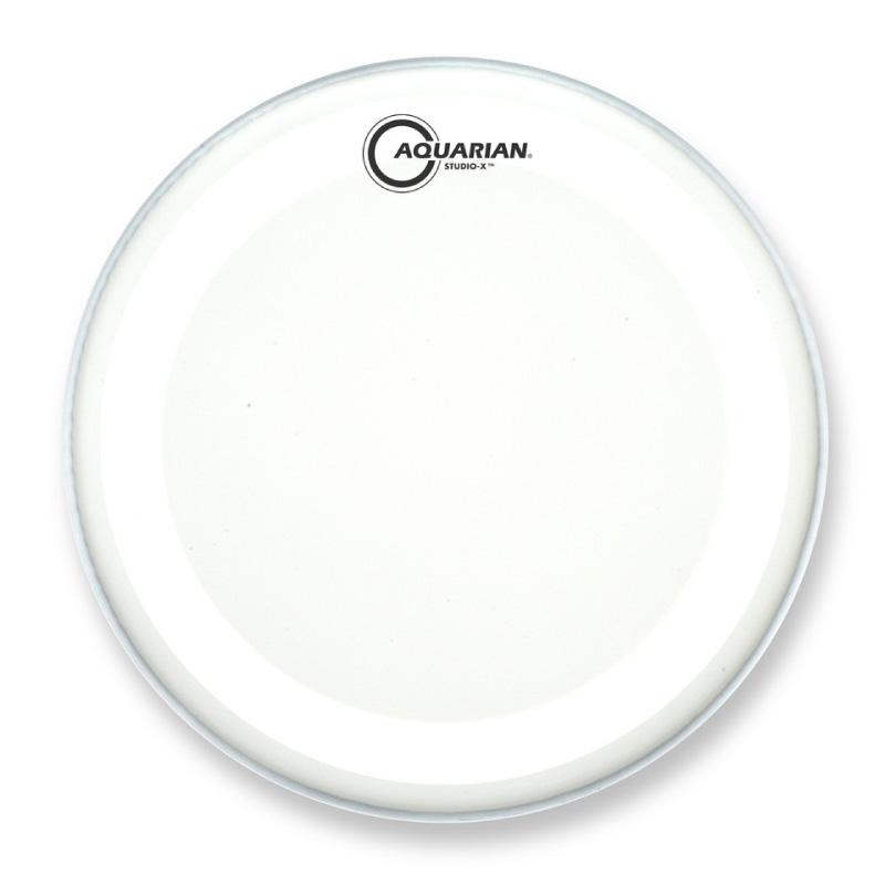 AQUARIAN Coated Studio-X 10吋噴白單層鼓皮