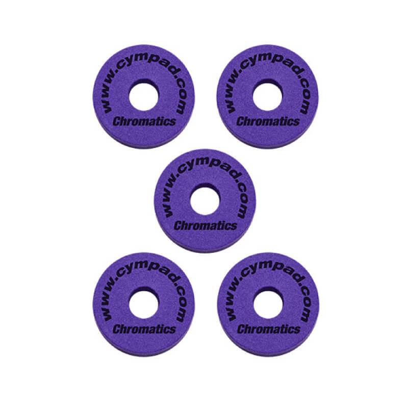 Cympad Chromatics 特製紫色銅鈸毛氈 (CS15-5P) 【美鼓打擊】