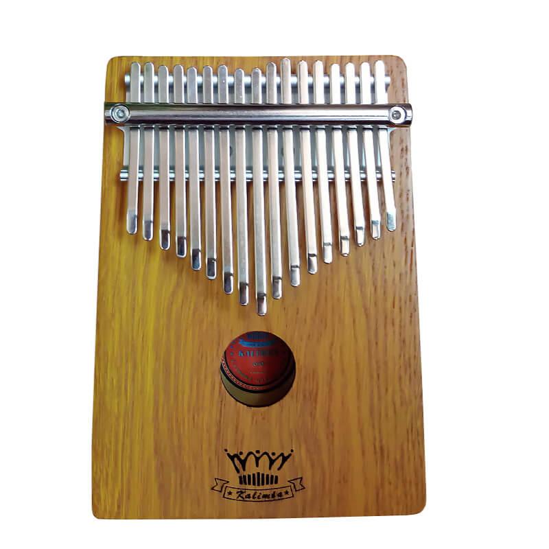 客製化17音單板美國白橡木拇指琴 卡林巴琴 (CL-17B) 【美鼓打擊】