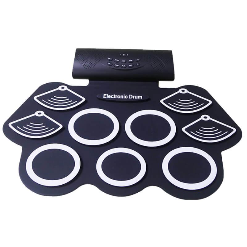新款藍芽充電式手捲電子鼓,可接電腦玩遊戲 (YMY12) 【美鼓打擊】