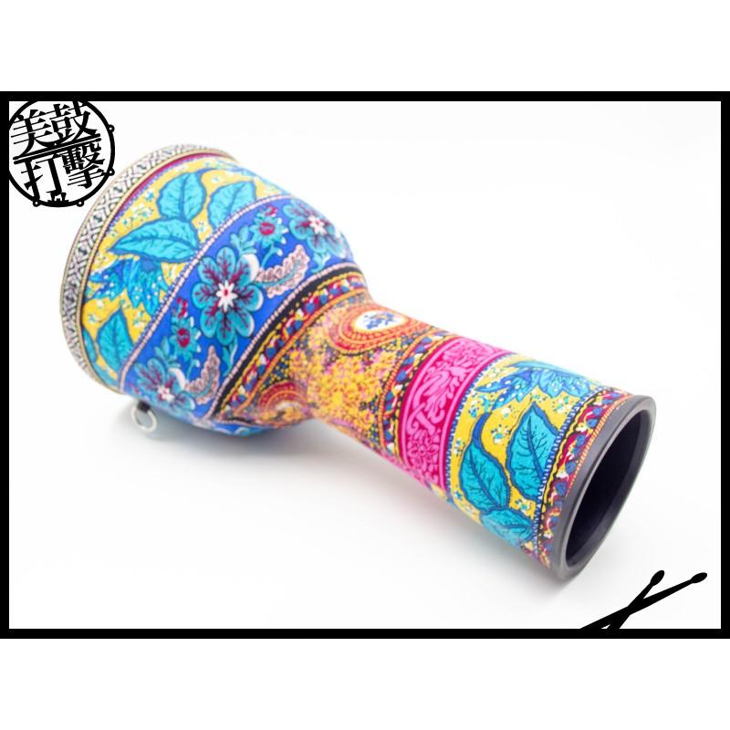 Djembe 彩繪貼布工藝 8吋兒童金杯鼓|非洲鼓 (AKFOX-08) 【美鼓打擊】