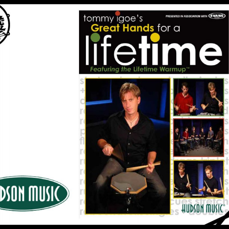 Tommy Igoe's Great Hands for a lifetime 鼓手必備教材