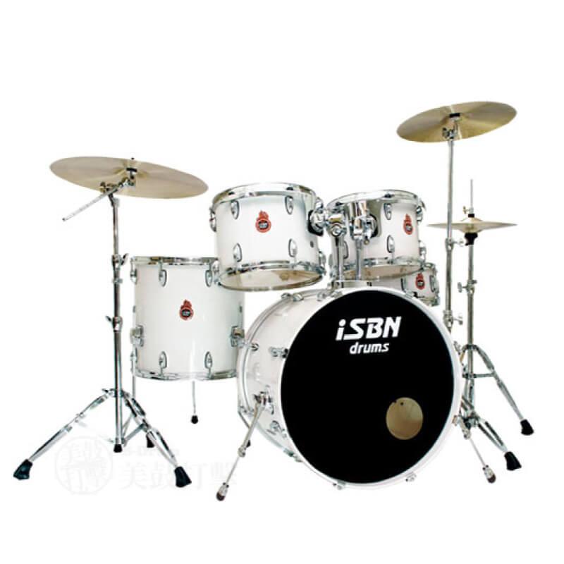 iSBN 603系列 櫻花白色 爵士鼓組