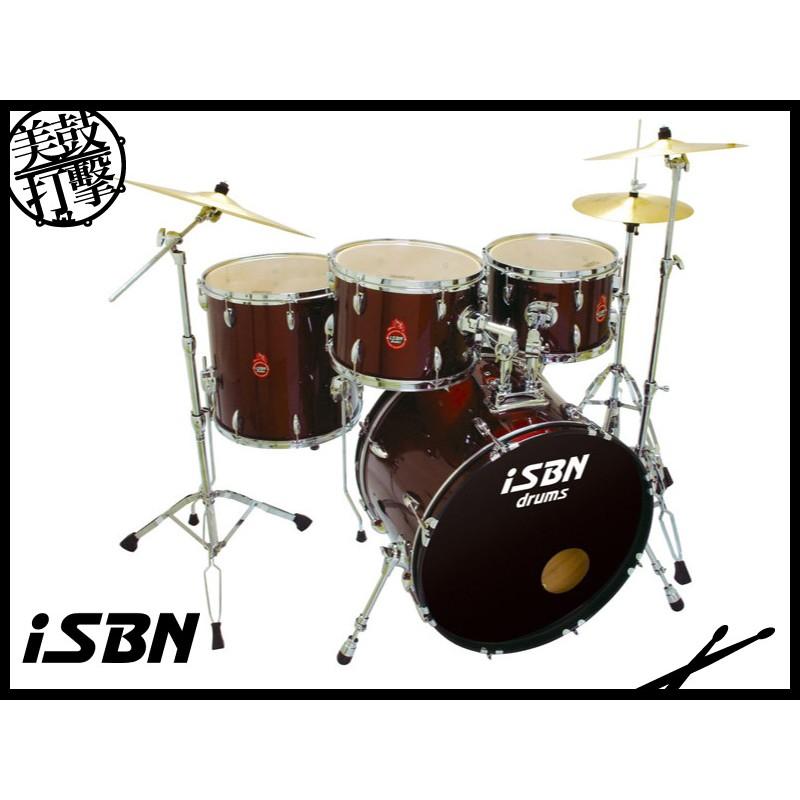 iSBN 503系列 酒紅色 爵士鼓組